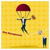 Biznesowy pomysł serii zarządzania ryzykiem pojęcie 1 Fotografia Royalty Free