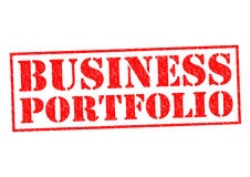 Biznesowy portfolio royalty ilustracja