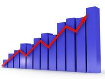 biznesowy postęp Zdjęcia Stock