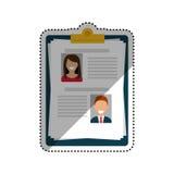 Biznesowy program nauczania - vitae ilustracji
