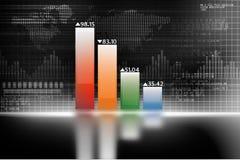 Biznesowy przyrost chart ilustracja wektor