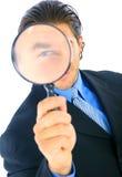 biznesowy przystojny oficer śledczy Obraz Stock