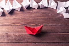 Biznesowy przywódctwo pojęcie Obrazy Stock