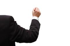 biznesowy ręki mienia mężczyzna pióro Fotografia Royalty Free