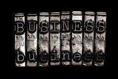 Biznesowy słowa pojęcie Zdjęcia Stock