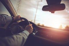 Biznesowy Samochodowy Podróżować Obrazy Royalty Free