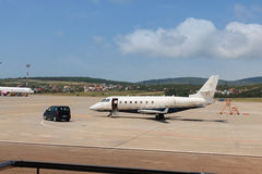 Biznesowy samolot Fotografia Royalty Free