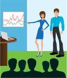 biznesowy spotkanie ilustracji