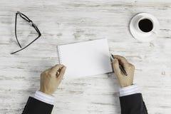 Biznesowy spotkanie i negocjacje Mieszani środki Zdjęcia Stock