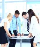 Biznesowy spotkanie - kierownika dyskutować Zdjęcie Royalty Free