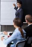 Biznesowy spotkanie przy biurem Zdjęcie Stock
