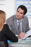 Biznesowy spotkanie w biurze Fotografia Stock