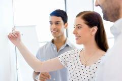 Biznesowy spotkanie z prezentacją zdjęcia stock