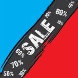 Biznesowy sprzedaż sztandaru projekt Obraz Stock