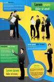 Biznesowy szablon Royalty Ilustracja
