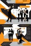 Biznesowy szablon Ilustracja Wektor