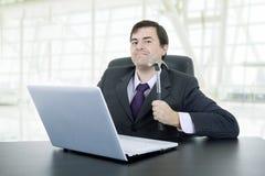 biznesowy szalony mężczyzna Zdjęcia Stock