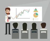 Biznesowy szkolenie prezentacja Fotografia Royalty Free