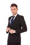 biznesowy target4454_0_ żakiet mężczyzna Obrazy Royalty Free