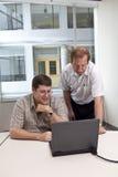 biznesowy target505_1_ kolegów Zdjęcie Stock