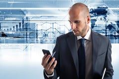 Biznesowy telefon komórkowy Zdjęcia Stock