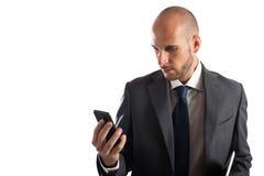 Biznesowy telefon komórkowy Obrazy Royalty Free