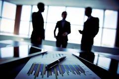 Biznesowy tercet Fotografia Stock
