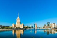 Biznesowy teren Moskwa Fotografia Royalty Free