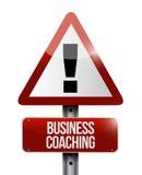 biznesowy trenowanie znaka ostrzegawczego pojęcie Zdjęcie Royalty Free