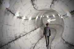 Biznesowy tunel Fotografia Royalty Free