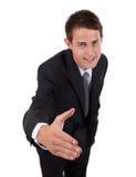 biznesowy uścisk dłoni obrazy stock