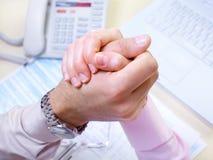 Biznesowy uścisk dłoni Zdjęcie Stock