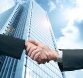 biznesowy uścisk dłoni Zdjęcia Stock