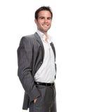 biznesowy ufny mężczyzna Zdjęcia Stock