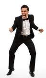 biznesowy wściekły mężczyzna zdjęcia royalty free