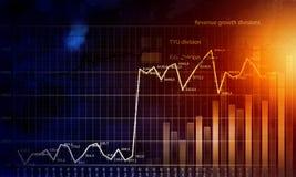 Biznesowy wirtualny panel Obrazy Stock