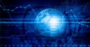 Biznesowy wirtualny panel Zdjęcia Stock
