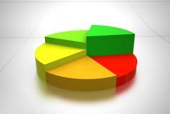biznesowy wykres Fotografia Royalty Free