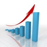 biznesowy wykres Ilustracja Wektor