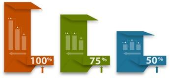 Biznesowy wykres Zdjęcia Stock