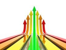 Biznesowy wykres Obraz Stock