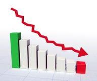 biznesowy wykres Zdjęcie Royalty Free