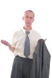 biznesowy wyrażeniowy mężczyzna Obrazy Royalty Free
