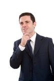 biznesowy wyrażeniowy mężczyzna portreta target2319_0_ Obraz Royalty Free