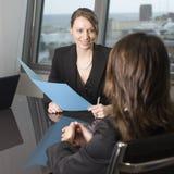 Biznesowy wywiad zdjęcia stock