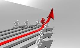 biznesowy wyzwanie Zdjęcie Stock