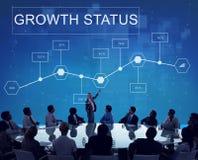 Biznesowy Wzrostowy osiągnięcie analityka strategii pojęcie Zdjęcie Royalty Free
