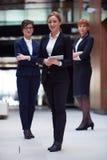 Biznesowy zespół kobiecy Zdjęcia Royalty Free