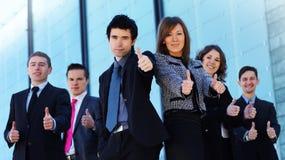 biznesowych caucasian ubrań formalni drużynowi potomstwa Zdjęcia Royalty Free
