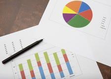 Biznesowych dane analiza Obrazy Stock